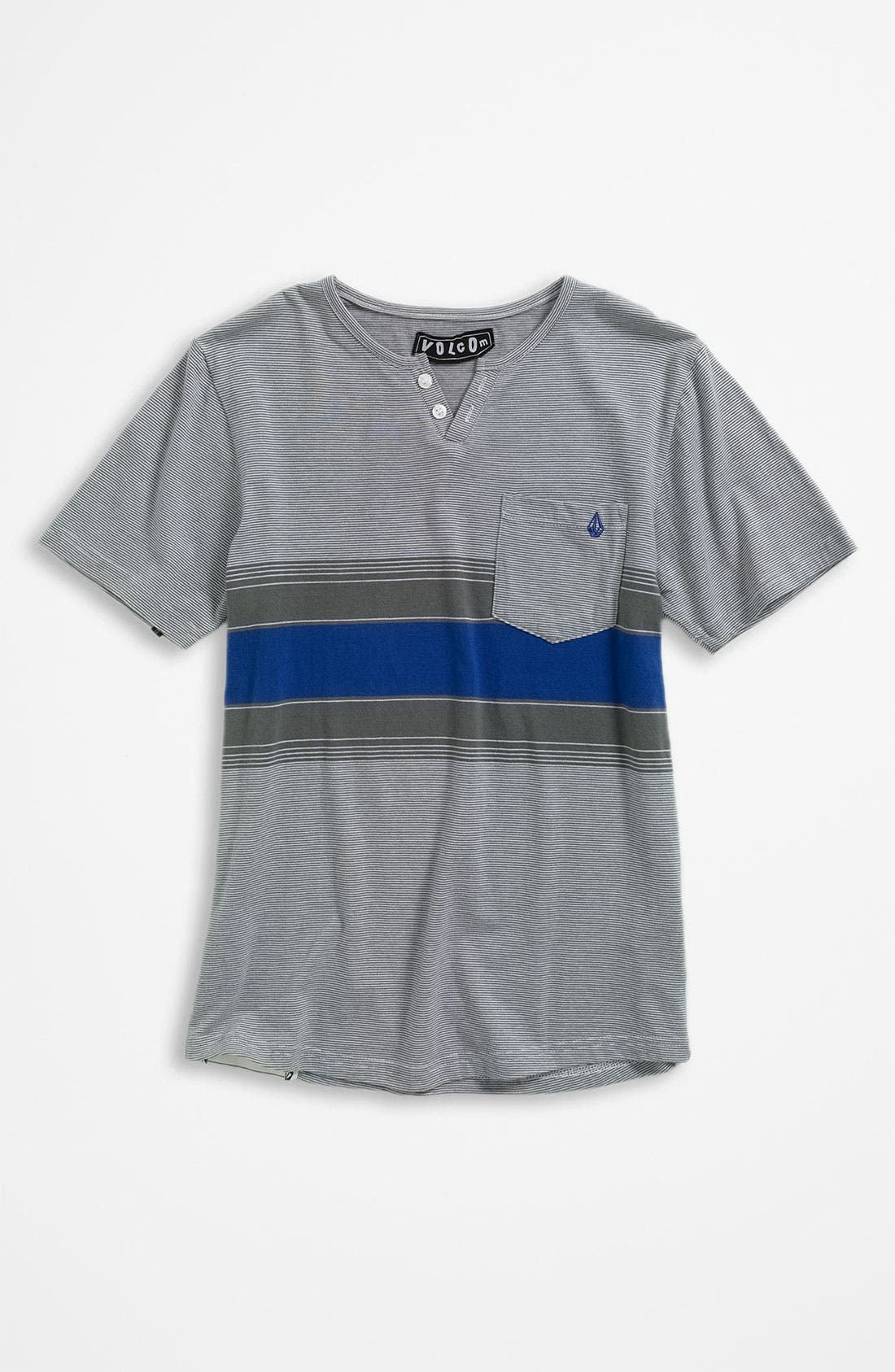 Main Image - Volcom Stripe Henley (Big Boys)