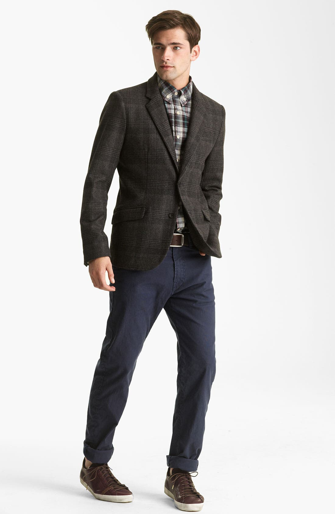 Alternate Image 3  - Steven Alan Glen Plaid Blazer