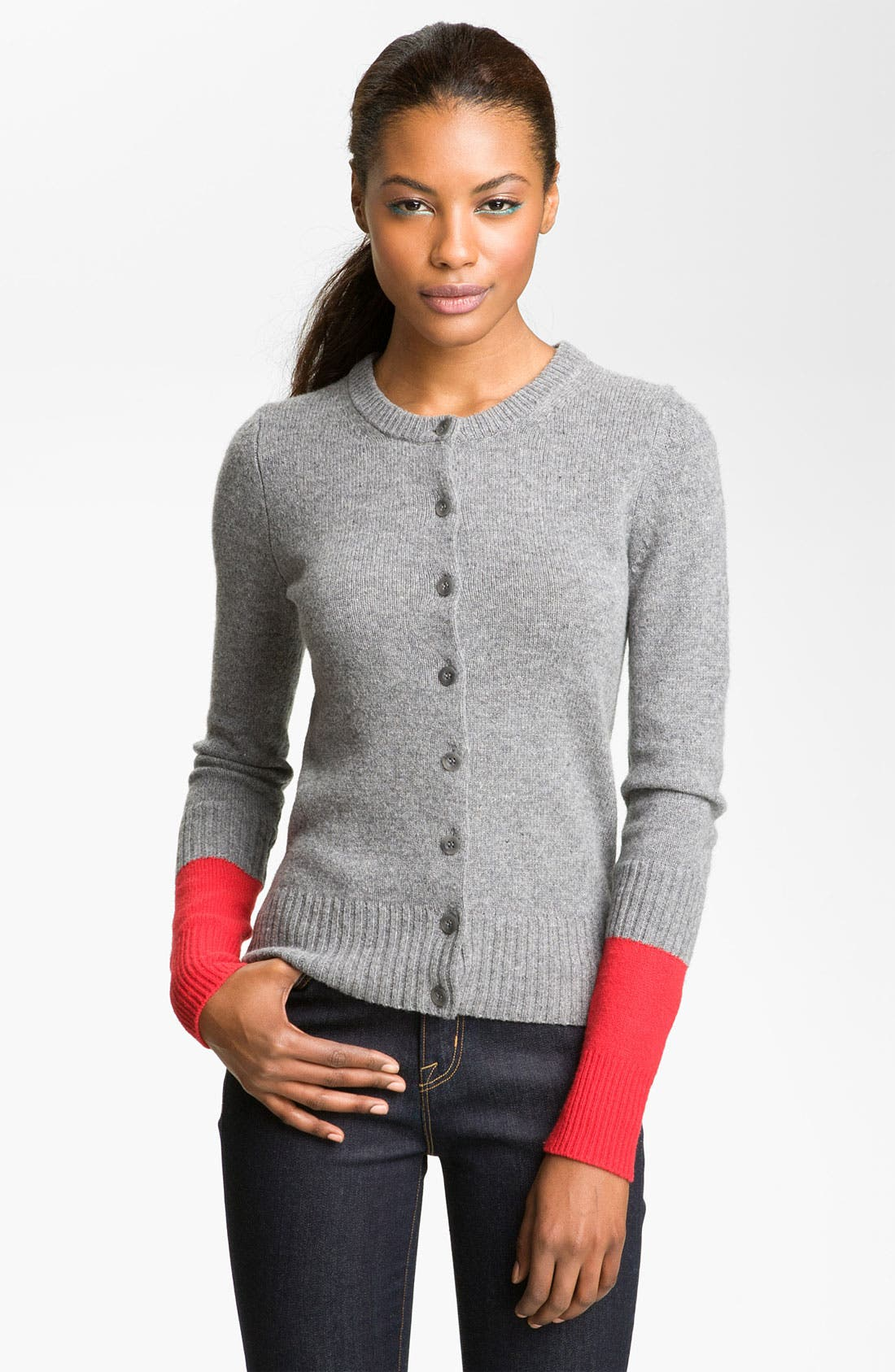 Main Image - MARC BY MARC JACOBS 'Ariana' Colorblock Cardigan