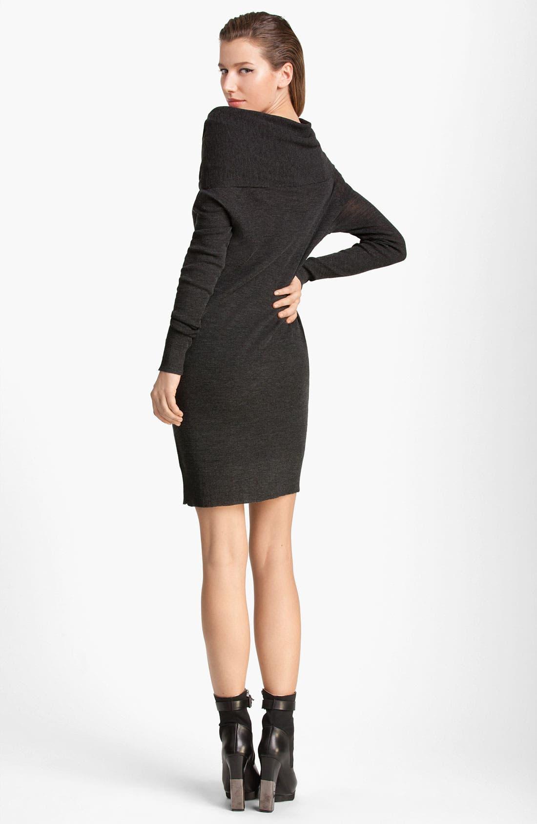 Alternate Image 2  - Lanvin Cowl Neck Wool Dress