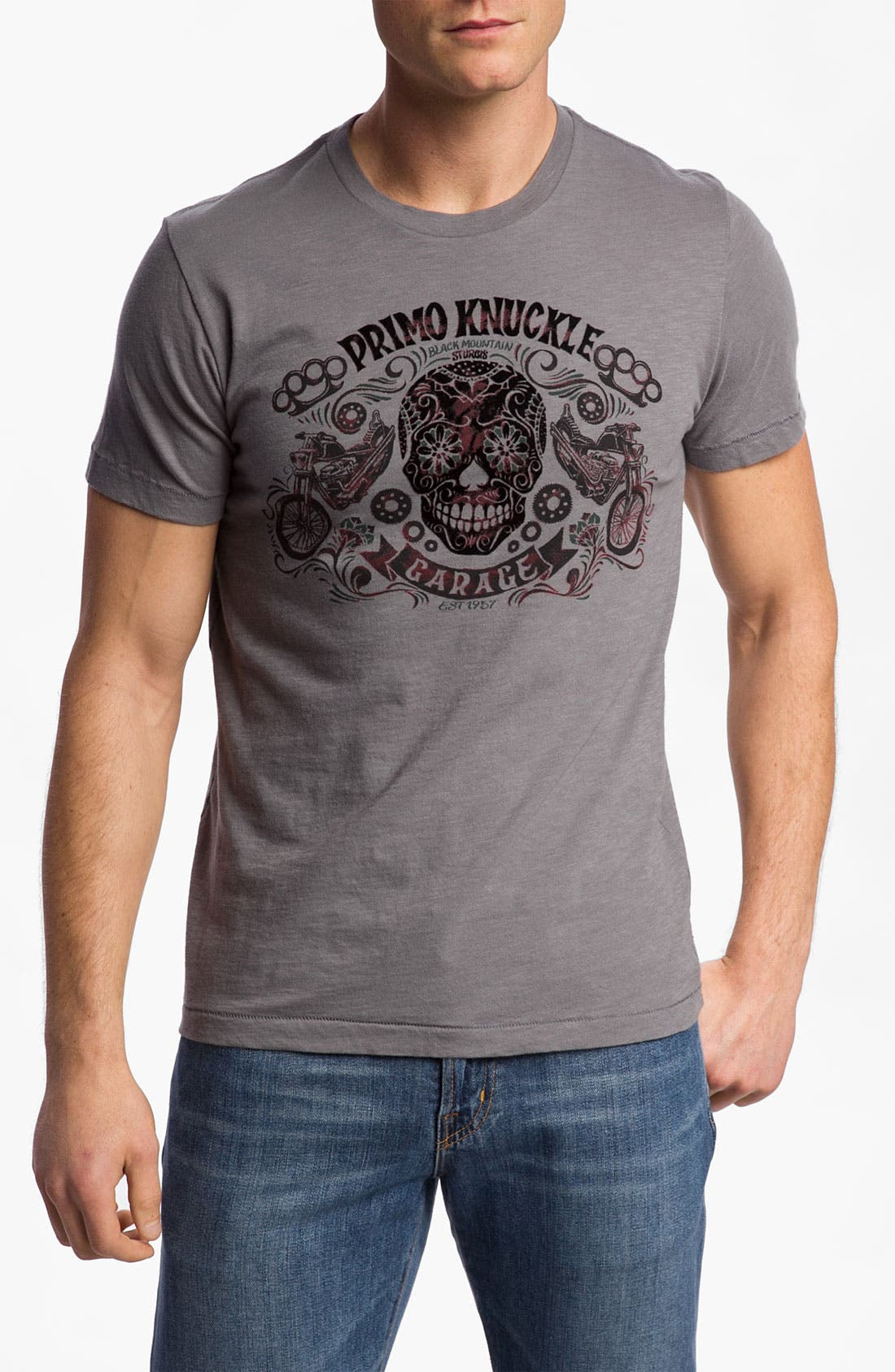 Alternate Image 1 Selected - Lucky Brand 'Primo Knuckle' T-Shirt