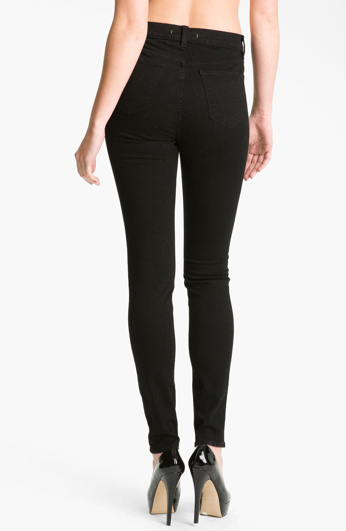 Alternate Image 2  - J Brand '2311 Maria' High Rise Skinny Stretch Jeans (Hewson Wash)