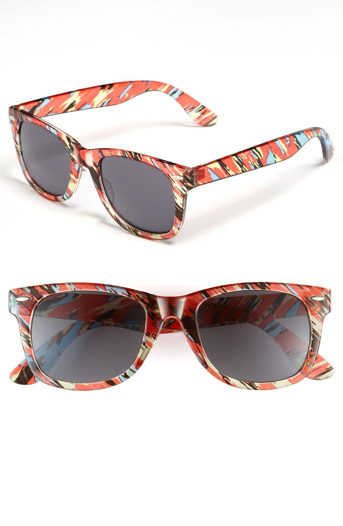 Main Image - Icon Eyewear 'Maureen' Retro Sunglasses (Juniors)