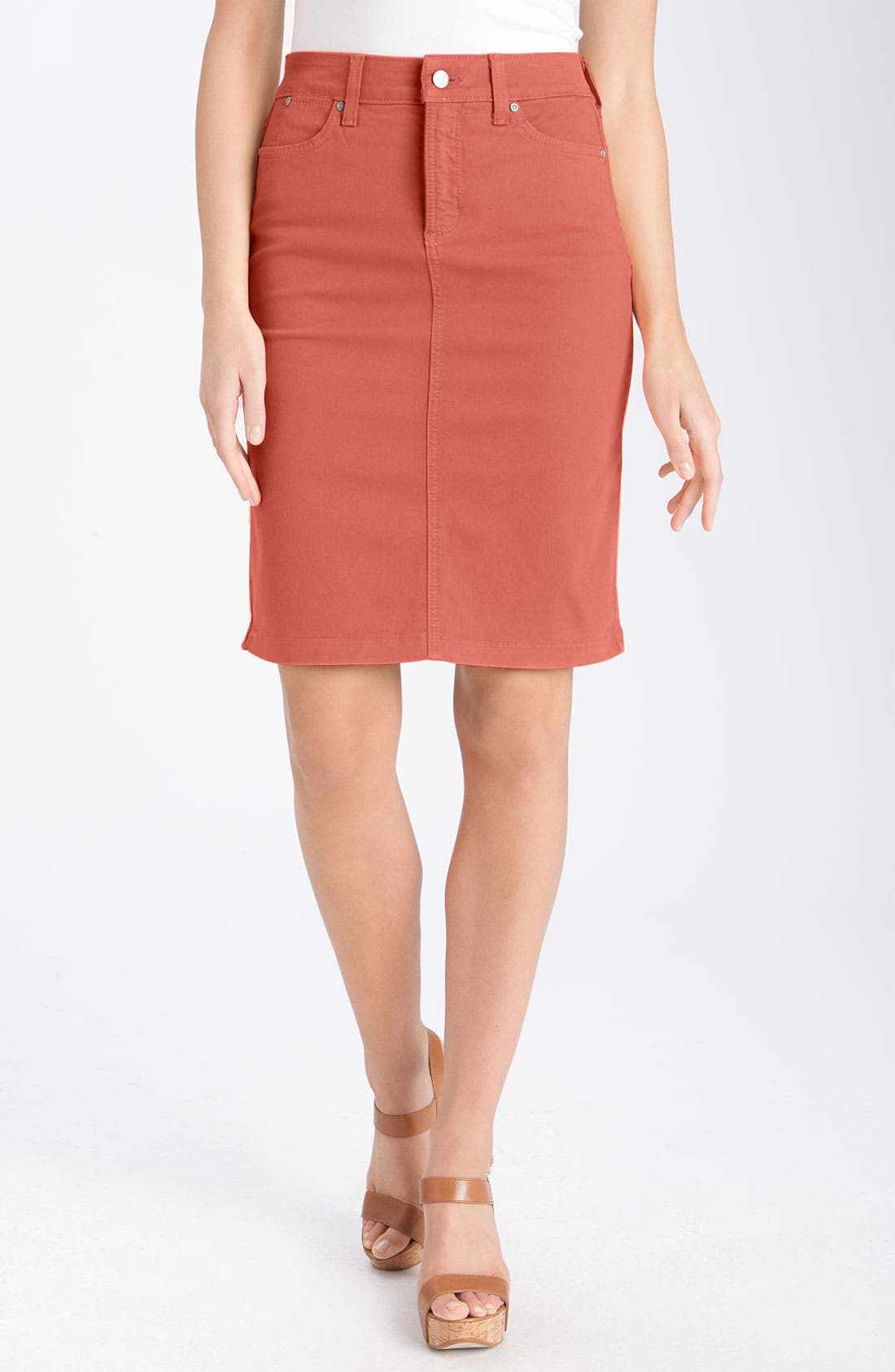 Main Image - NYDJ 'Emma' Stretch Twill Skirt