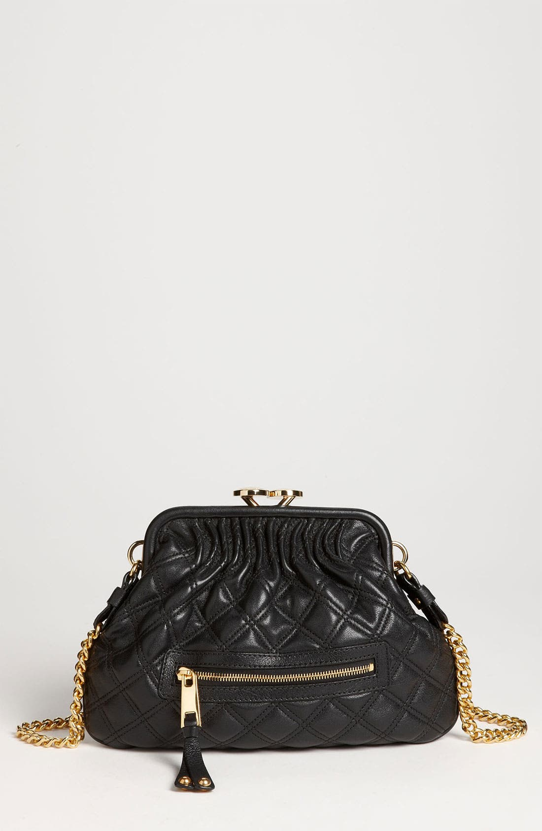 Main Image - MARC JACOBS 'Little Stam' Leather Crossbody Bag