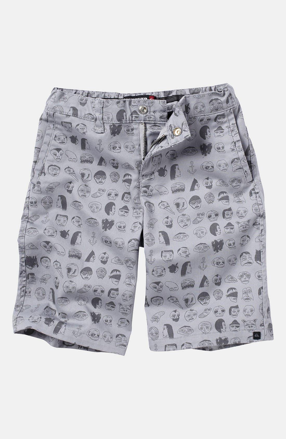 Main Image - Quiksilver 'Uno Surplus' Shorts (Little Boys)