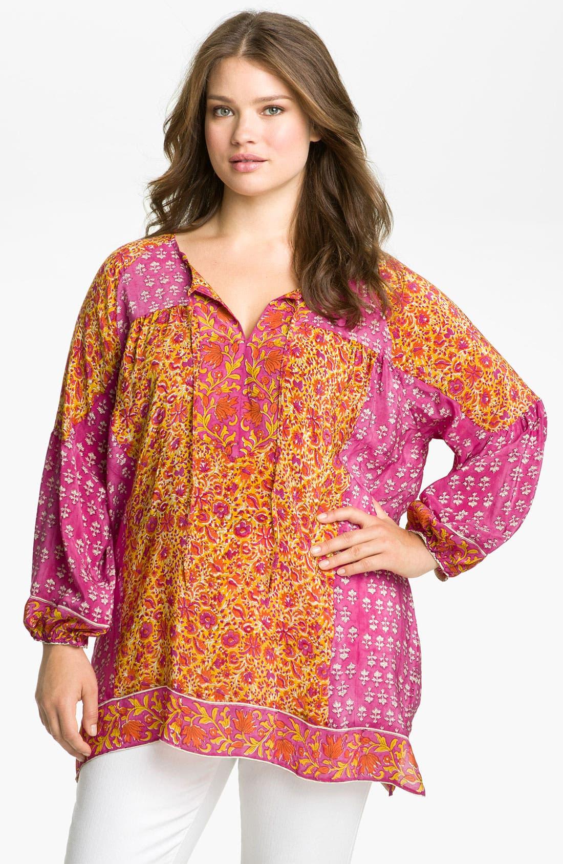 Alternate Image 1 Selected - Tolani 'Phoebe' Tunic (Plus Size)