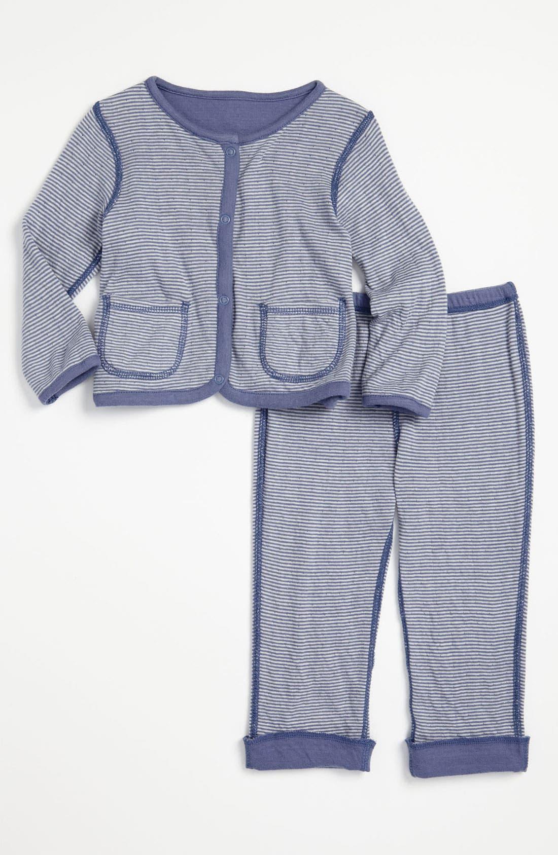 Alternate Image 2  - Nordstrom Baby Reversible Jacket & Leggings (Infant)