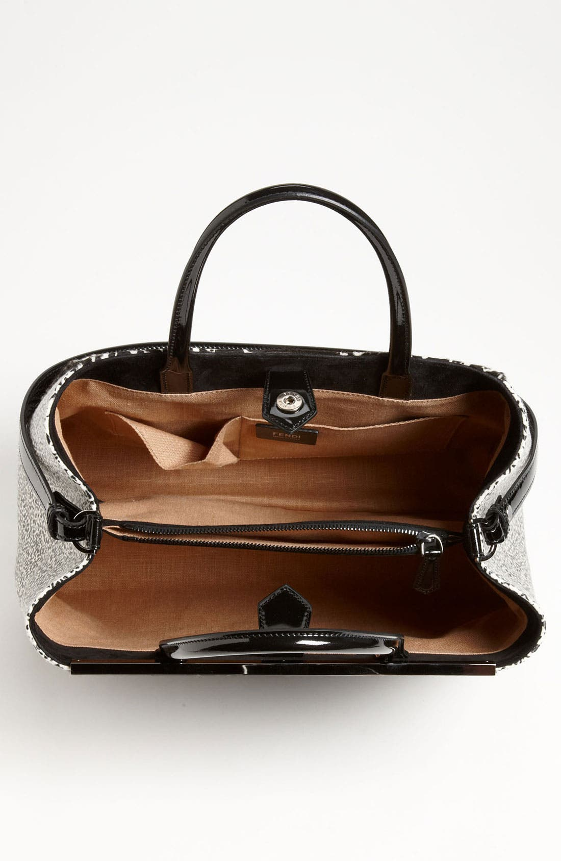 Alternate Image 3  - Fendi '2Jours' Calf Hair Shopper