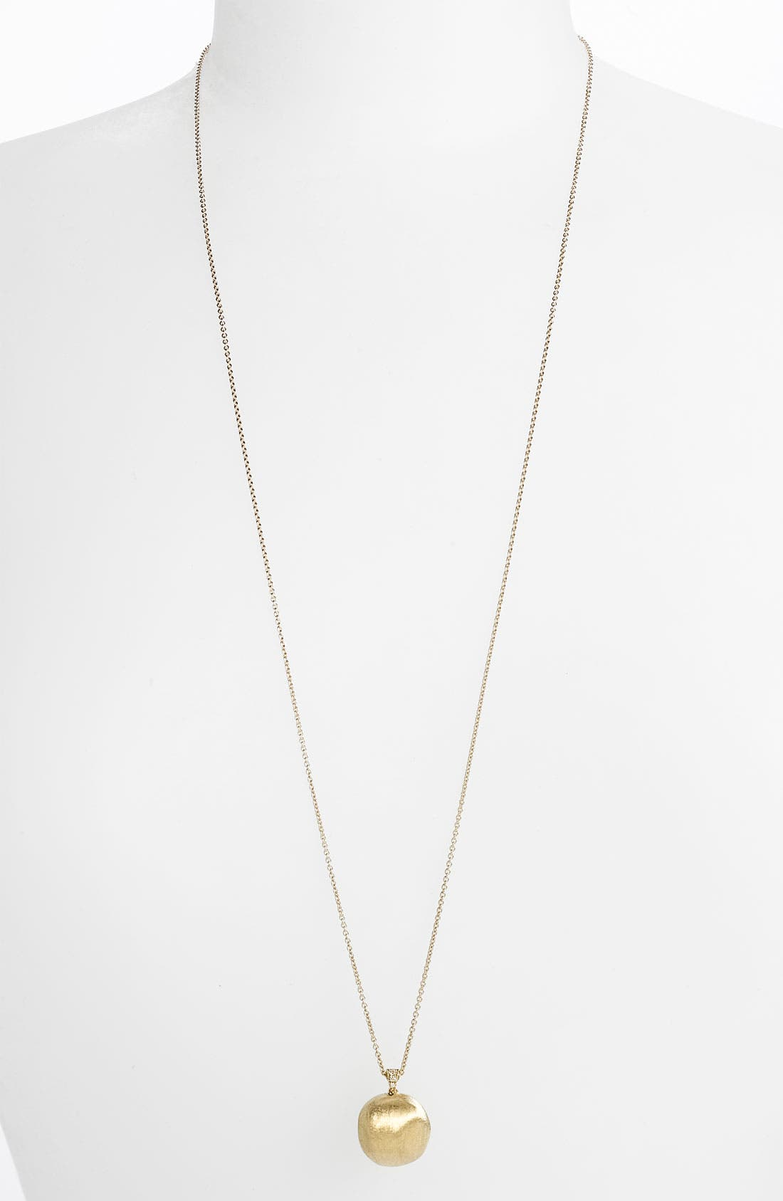 Alternate Image 1 Selected - Marco Bicego 'Africa' Long Pendant Necklace