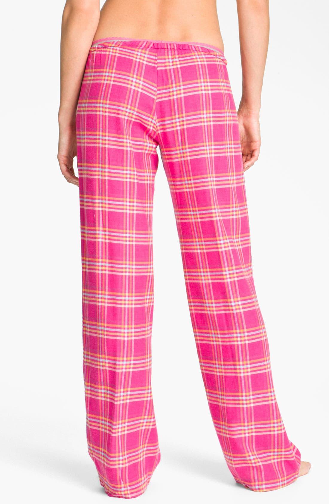 Alternate Image 2  - Steve Madden 'Mad4Plaid' Pajama Pants