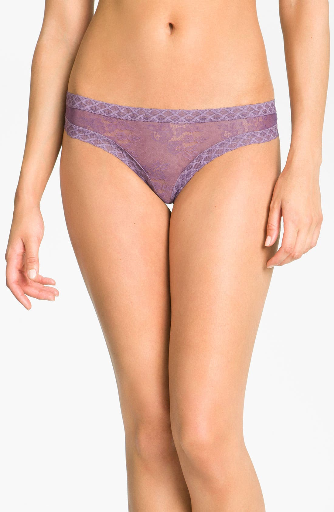 Alternate Image 1 Selected - Natori 'Bliss' Lace Thong