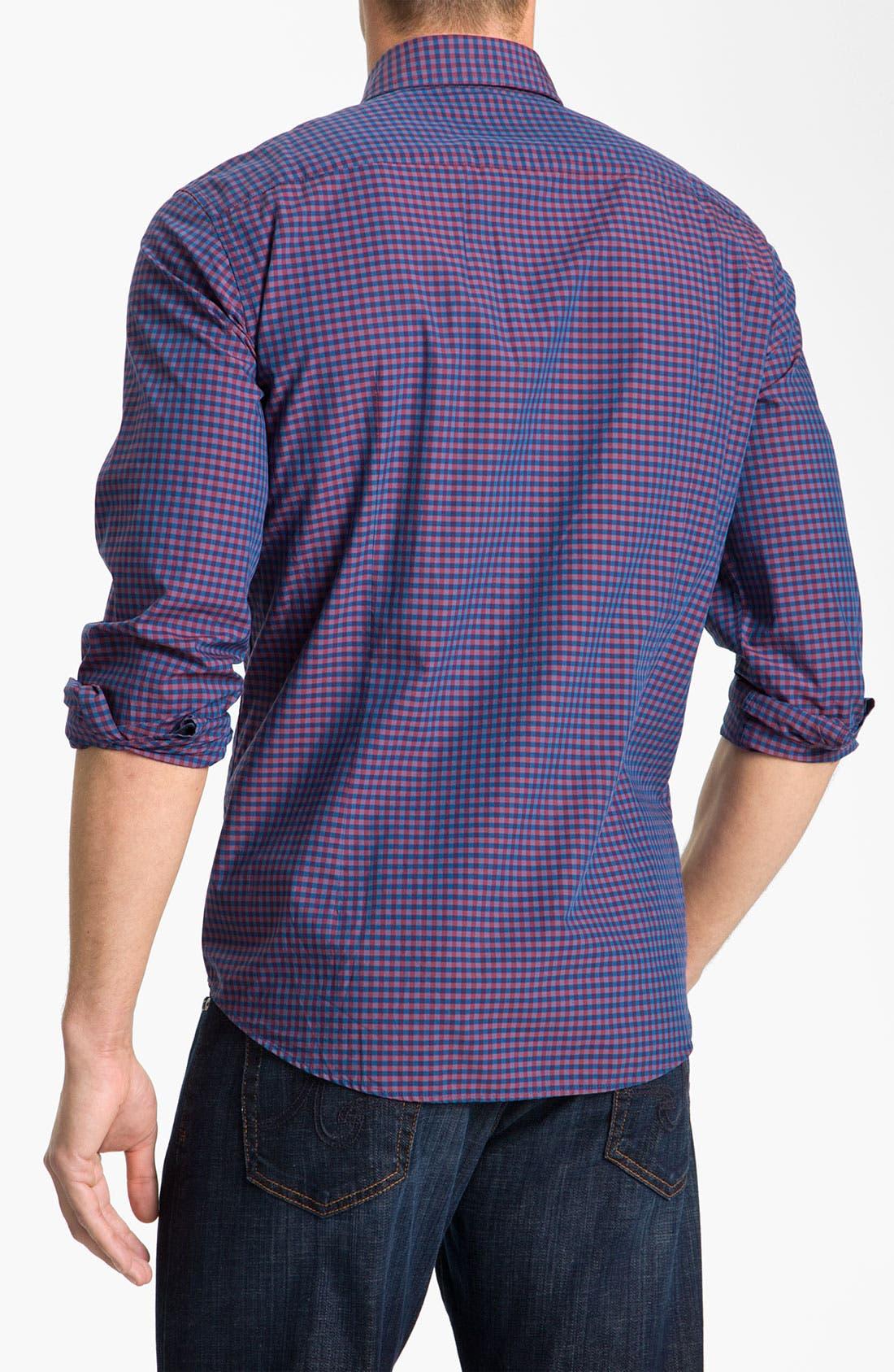 Alternate Image 2  - BOSS Black 'Ronny' Slim Fit Sport Shirt