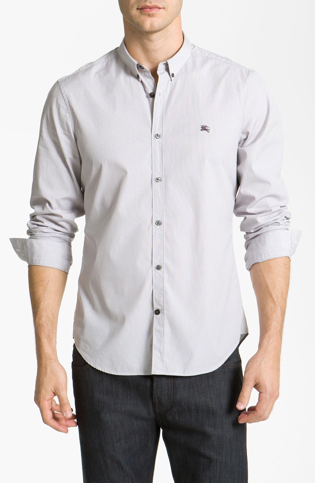 Main Image - Burberry Brit Woven Sport Shirt