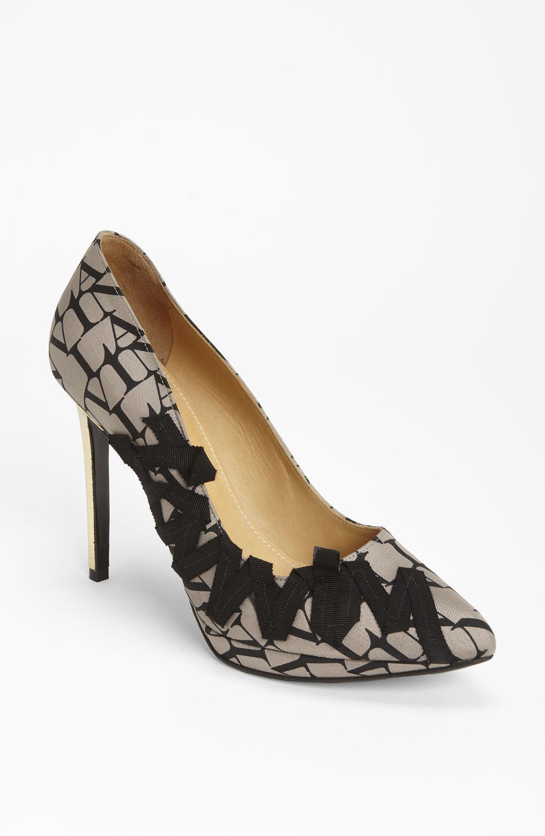 Alternate Image 1 Selected - Lanvin '10th Anniversary' Logo Pump