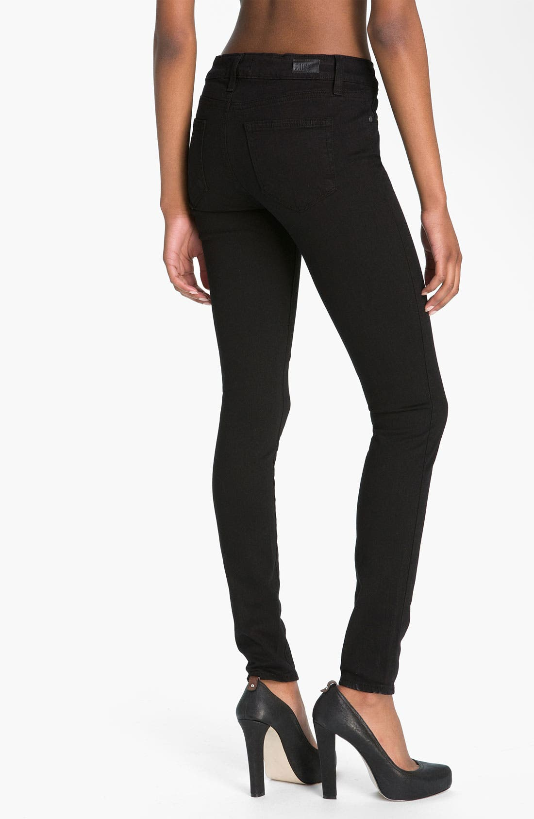 Alternate Image 2  - Paige Denim 'Verdugo' Stretch Denim Leggings (Vinyl)