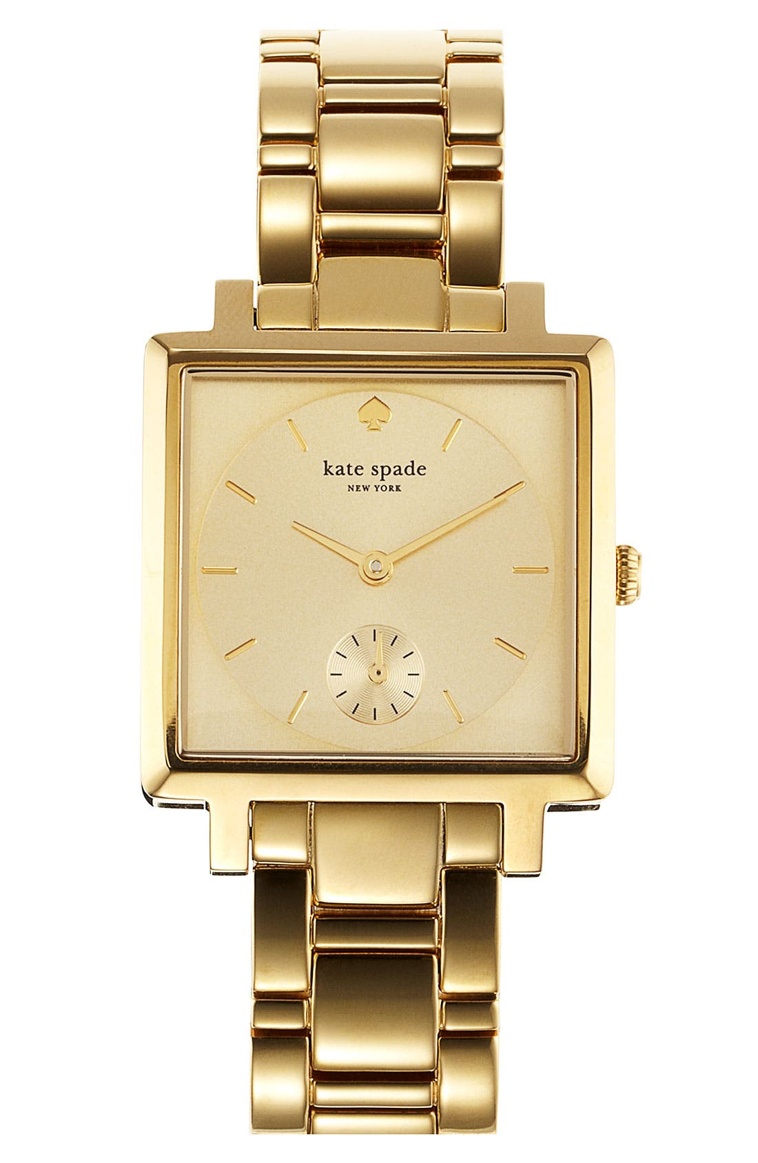 Alternate Image 1 Selected - kate spade new york square bracelet watch