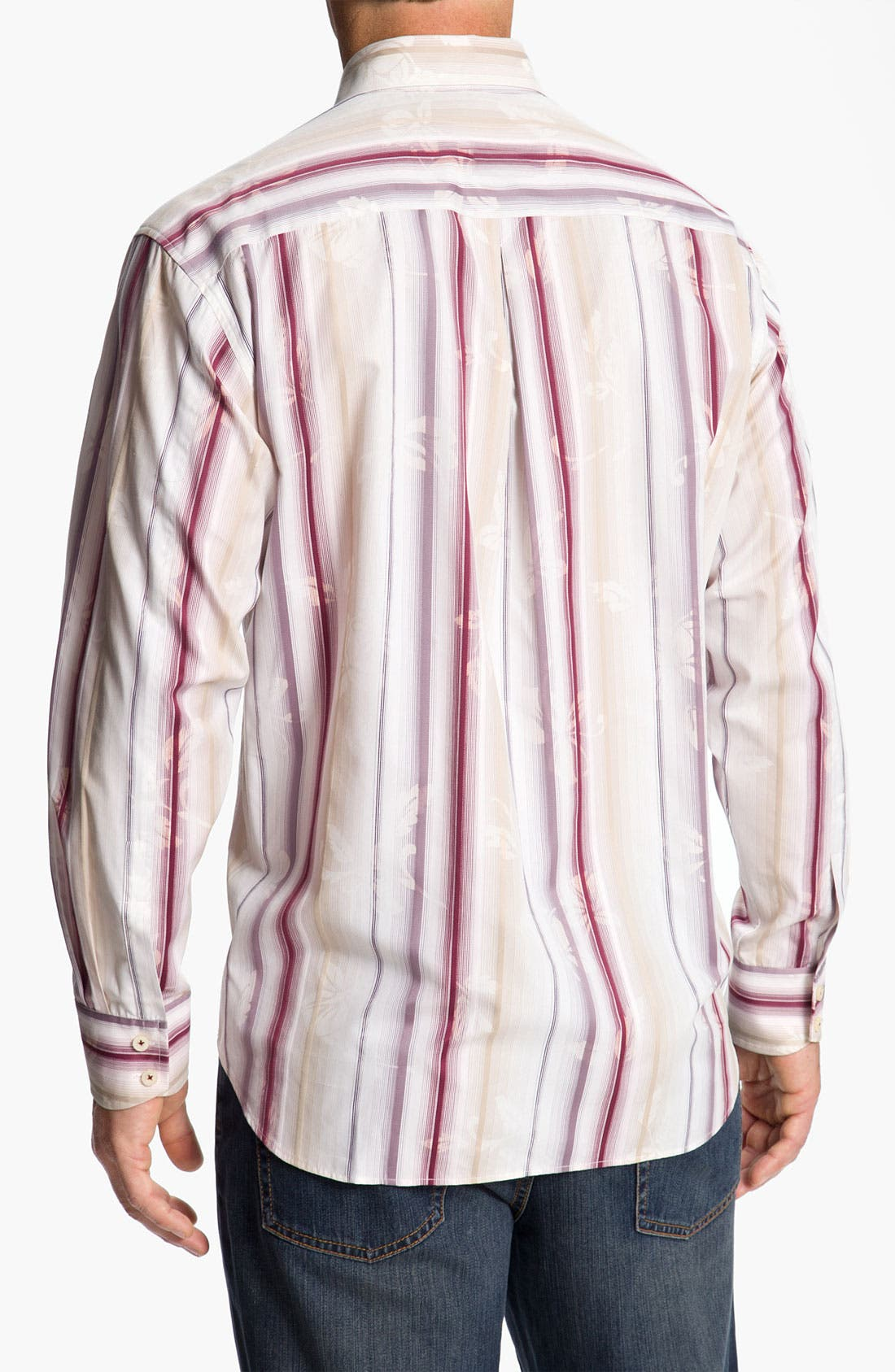 Alternate Image 2  - Tommy Bahama 'Fleur de Soleil' Sport Shirt