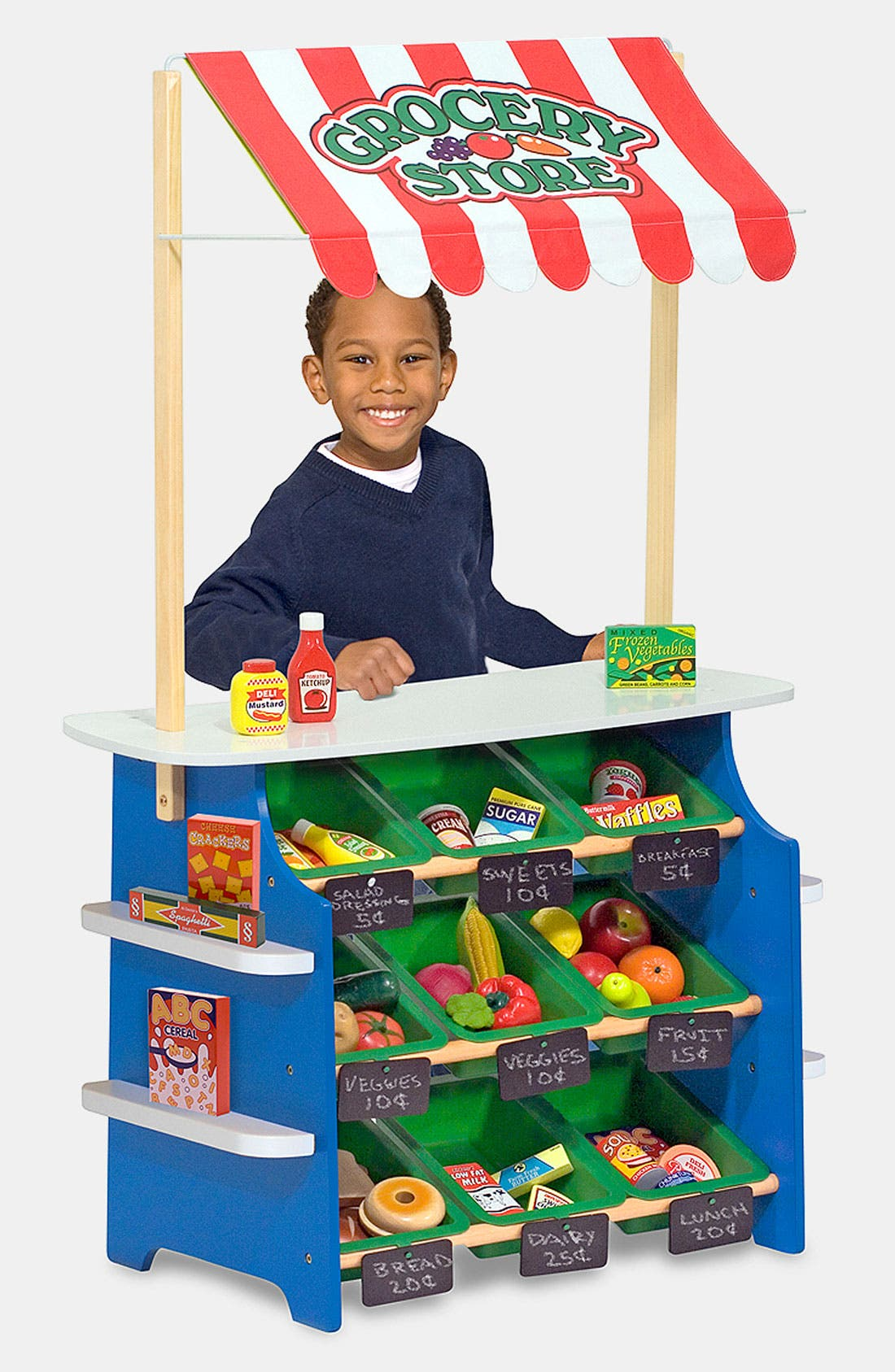 Alternate Image 2  - Melissa & Doug Play Time Convertible Grocery Store & Lemonade Stand (Online Only)