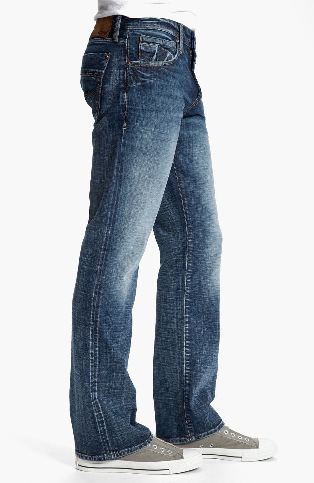 Alternate Image 3  - Mavi Jeans 'Josh' Bootcut Jeans (Dark American Cashmere)