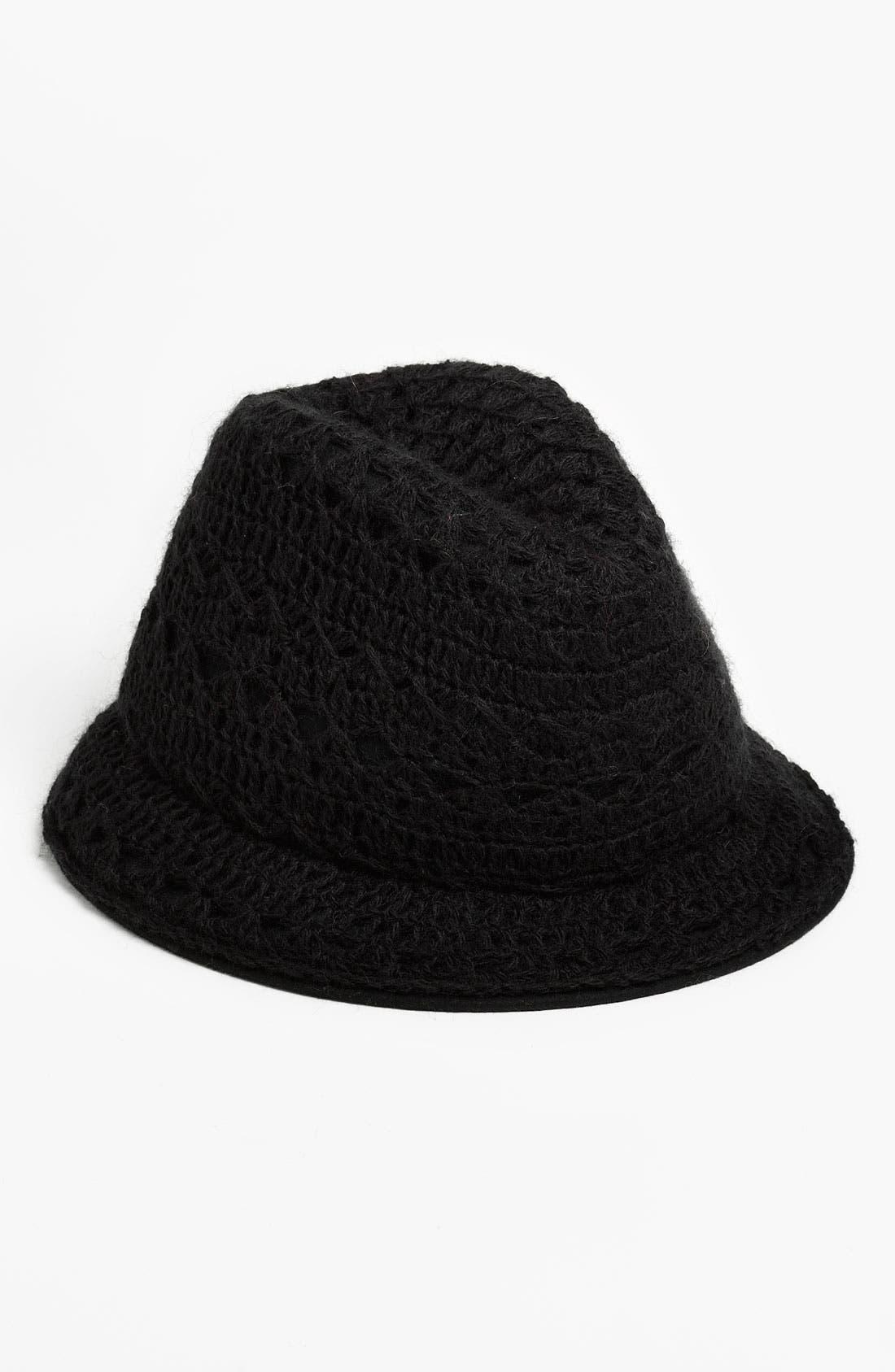 Main Image - Tarnish Crochet Fedora