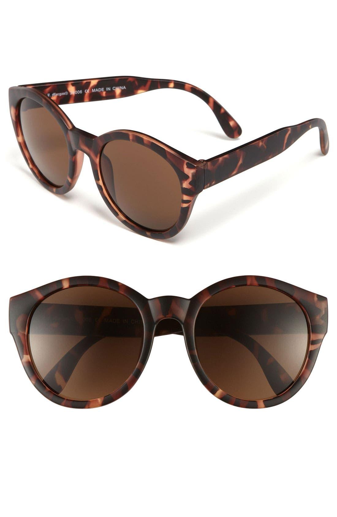 Main Image - A.J. Morgan 53mm 'Miss Brooks' Retro Sunglasses