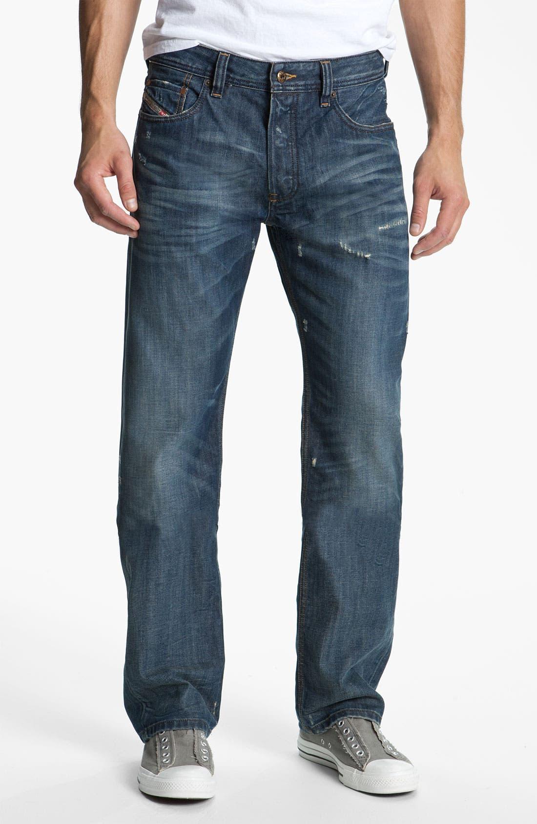 Alternate Image 2  - DIESEL® 'Larkee' Relaxed Straight Leg Jeans (0885S)