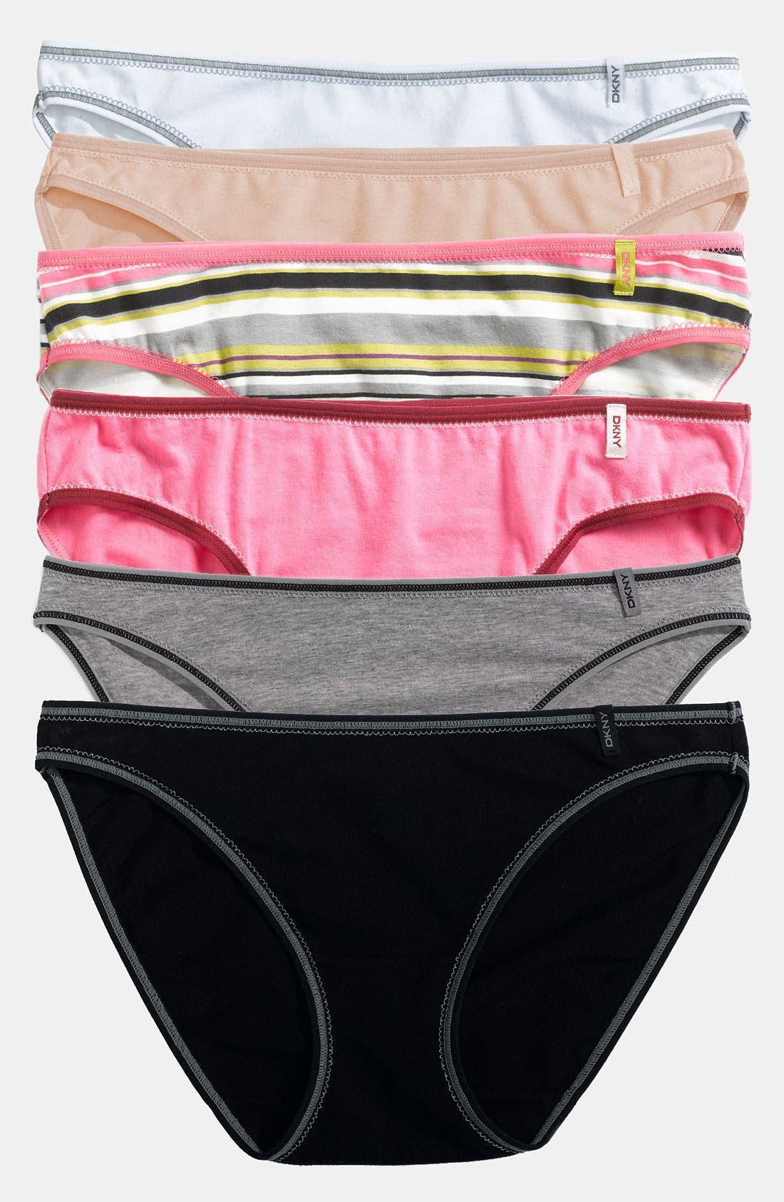 Alternate Image 1 Selected - DKNY 'Comfort Classic' Bikini (3 for $27)