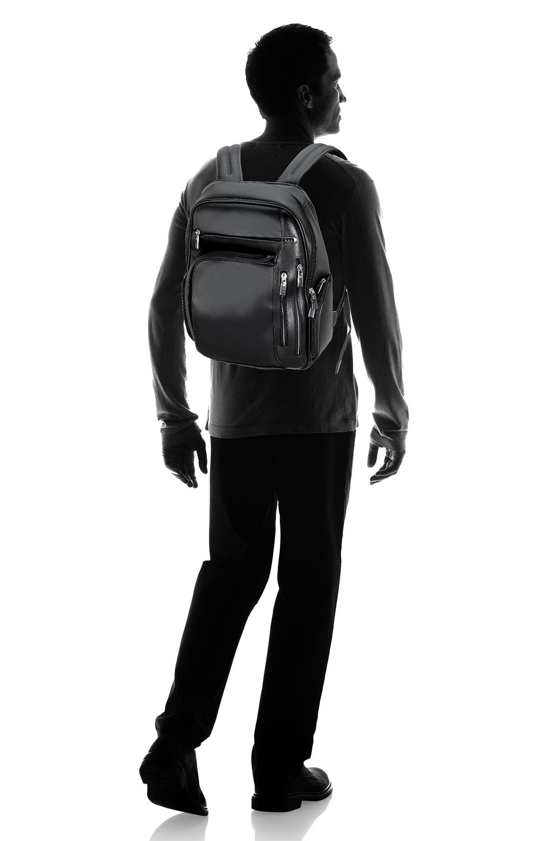 Alternate Image 5  - Tumi 'Arrive - Kingsford' Leather Backpack