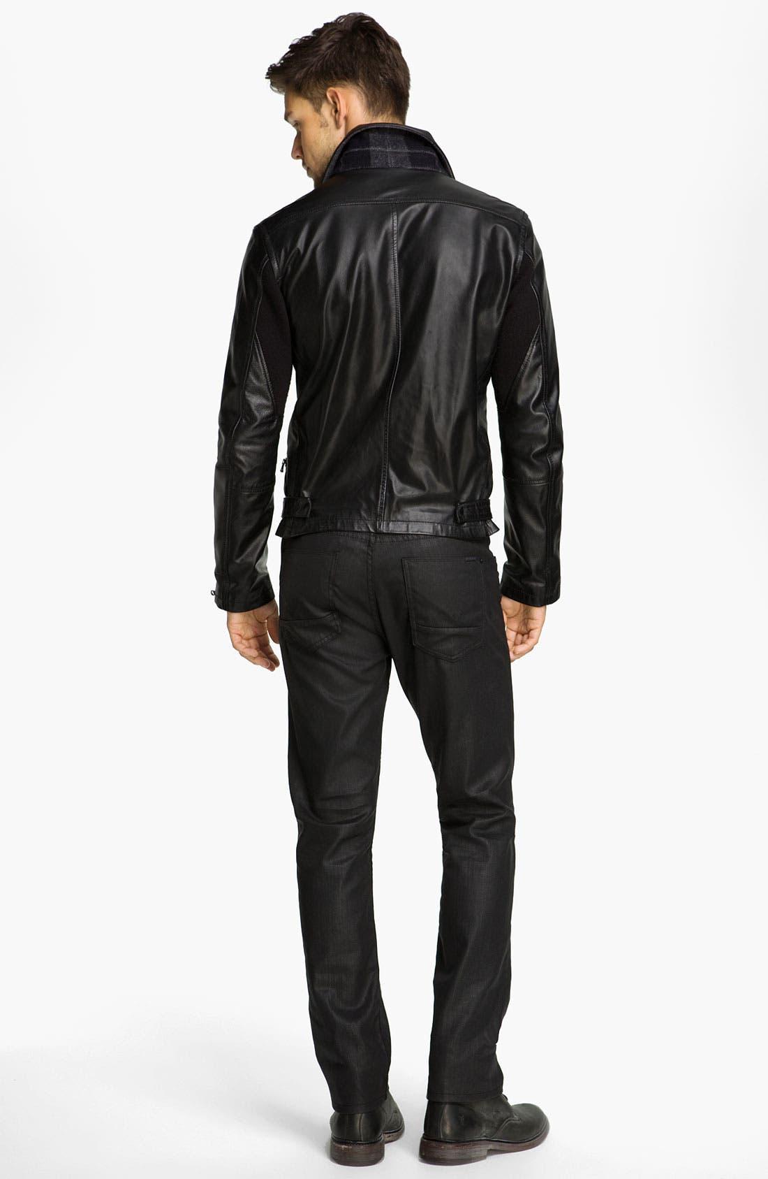 Alternate Image 5  - Edun Leather Moto Jacket