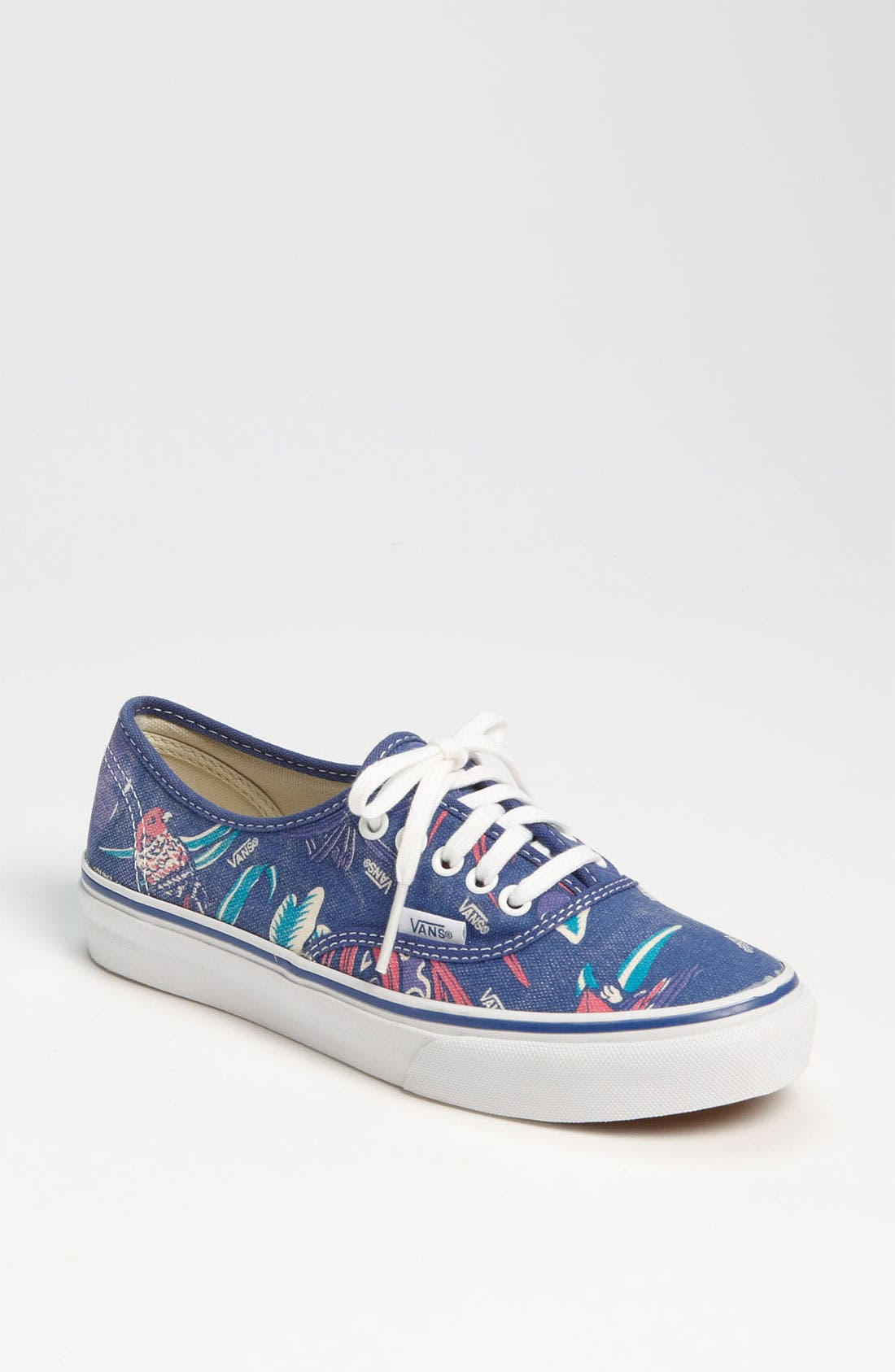 Alternate Image 1 Selected - Vans 'Authentic - Slim' Chambray Sneaker (Women)