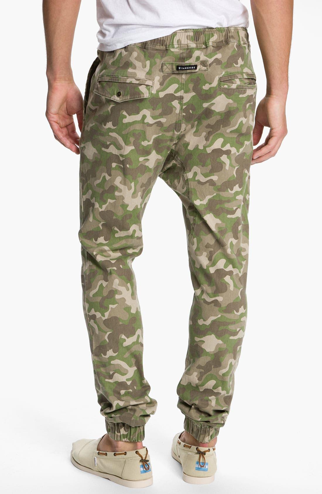 Alternate Image 2  - Zanerobe 'Sureshot' Slim Tapered Leg Camo Pants