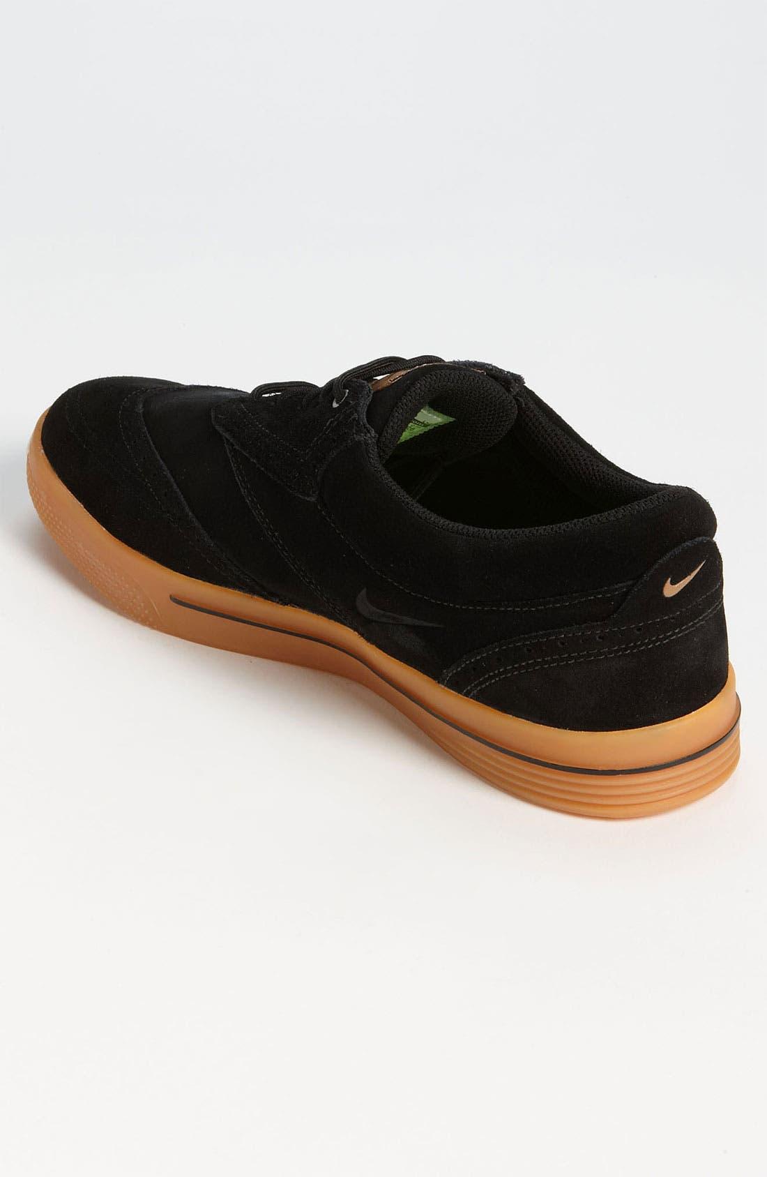 Alternate Image 2  - Nike 'Lunar Swingtip' Suede Golf Shoe (Men)