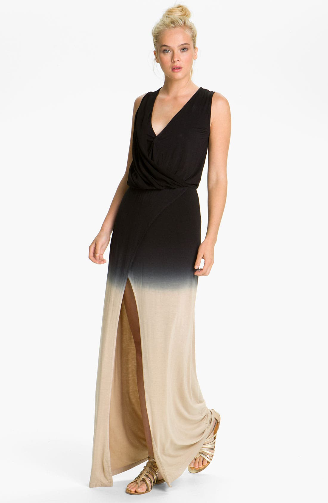 Main Image - Young, Fabulous & Broke 'Arroyo' Ombré Maxi Dress