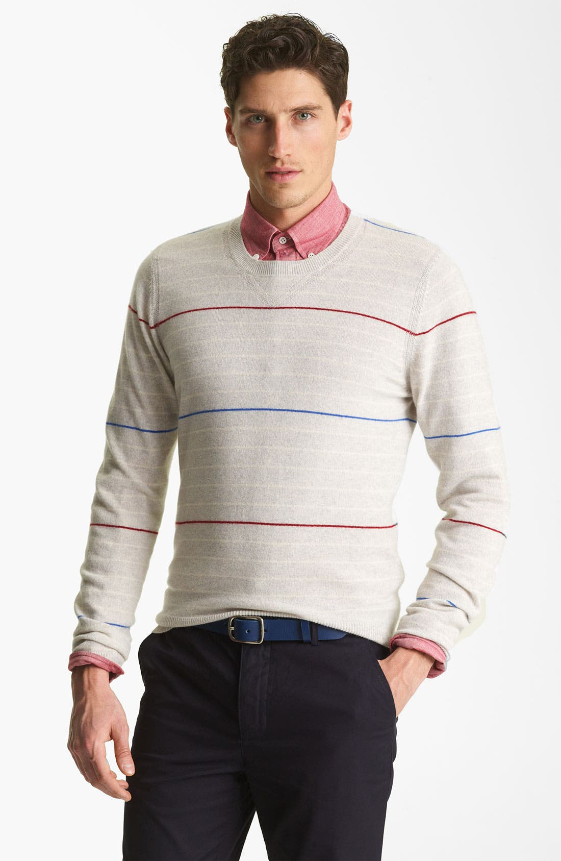 Alternate Image 1 Selected - Shipley & Halmos 'Laurel' Cashmere Sweater