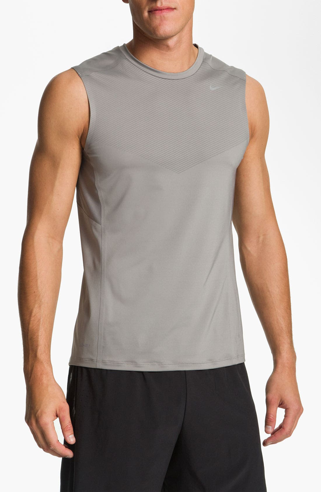 Alternate Image 1 Selected - Nike 'Swift Muscle' Sleeveless T-Shirt