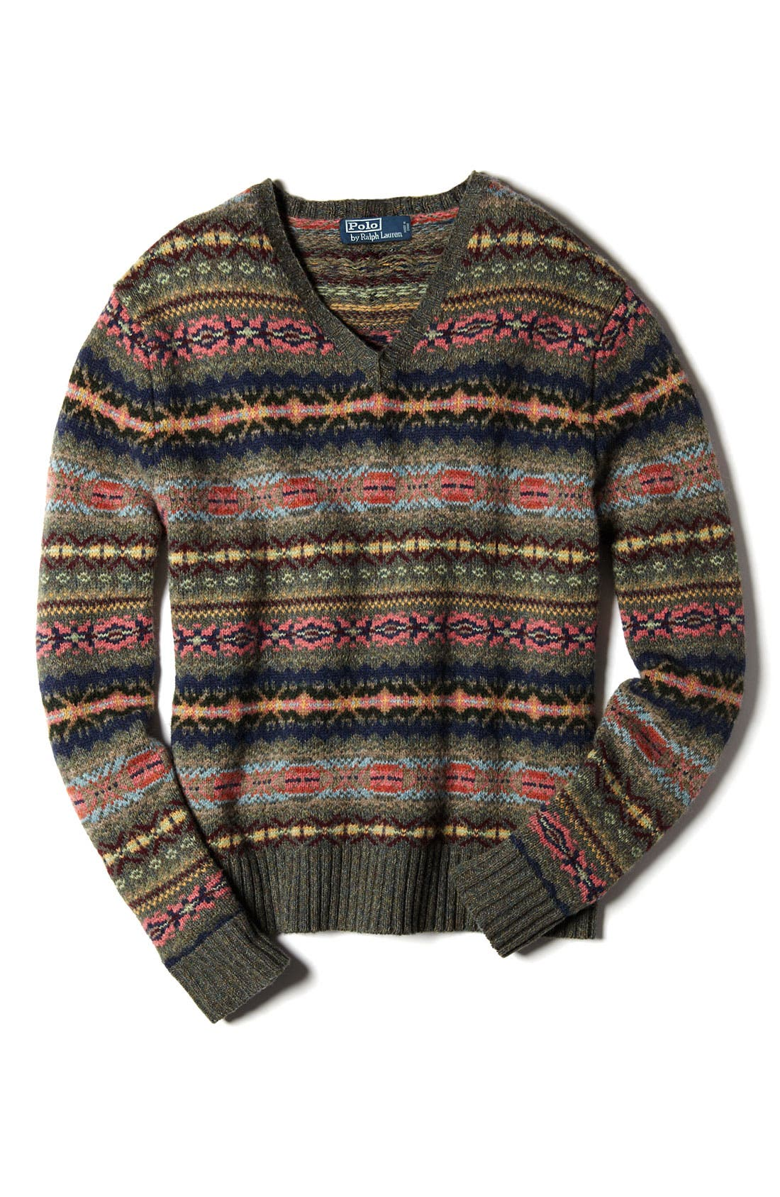 Alternate Image 4  - Polo Ralph Lauren Fair Isle Sweater