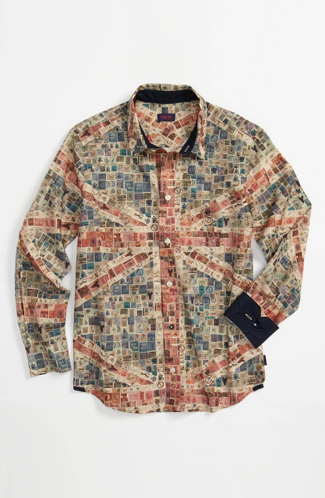 Main Image - Paul Smith Junior 'Carter' Woven Shirt (Big Boys)