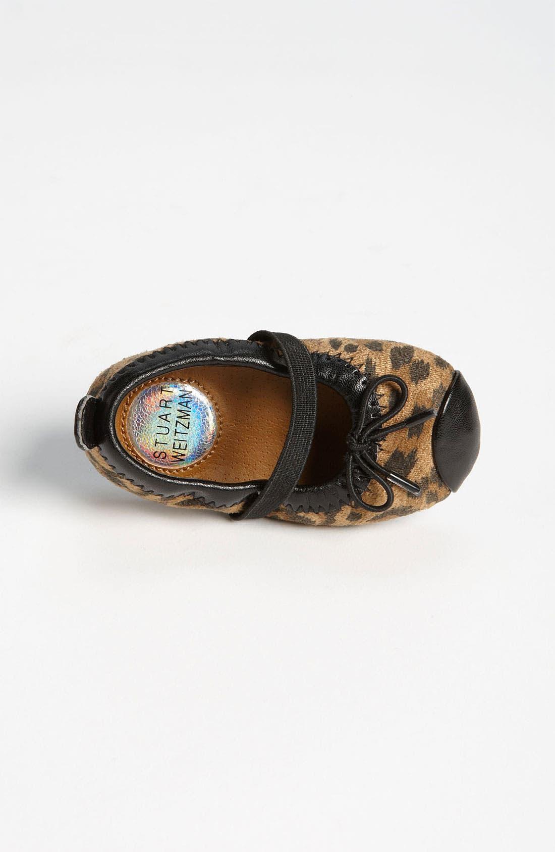Alternate Image 3  - Stuart Weitzman 'Baby Chippy 2' Crib Shoe (Baby)