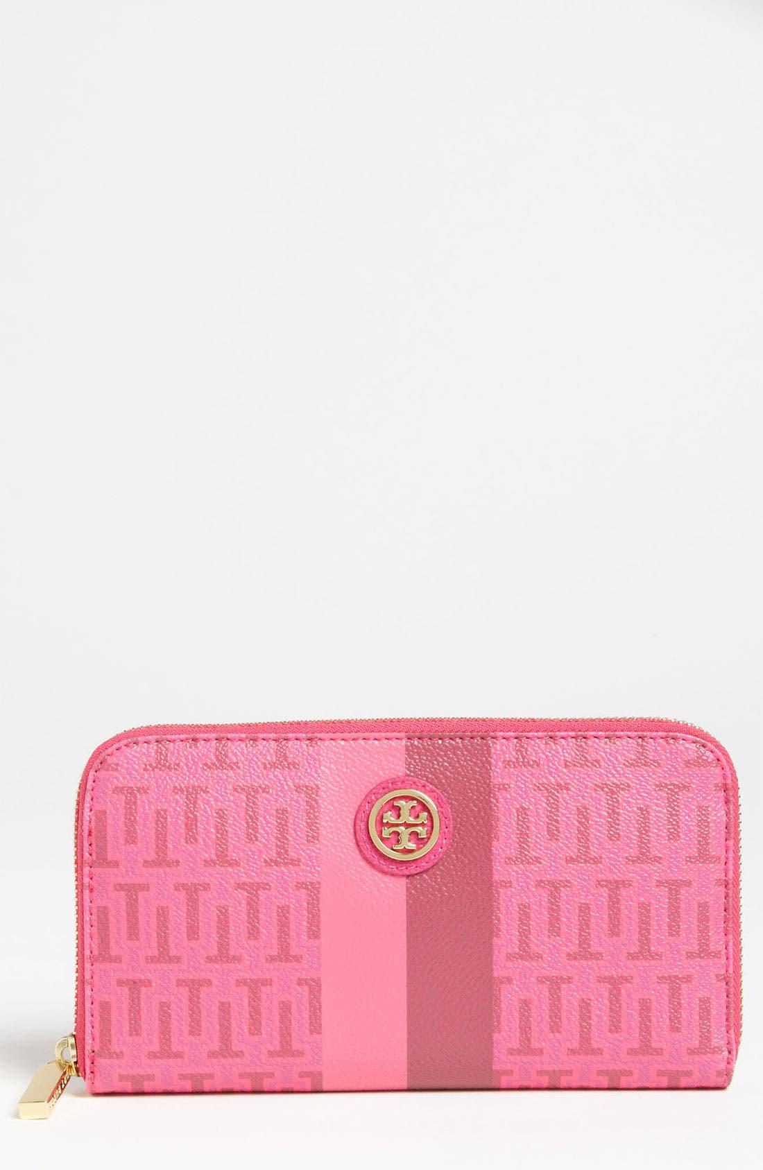Alternate Image 1 Selected - Tory Burch 'Roslyn' Continental Zip Wallet
