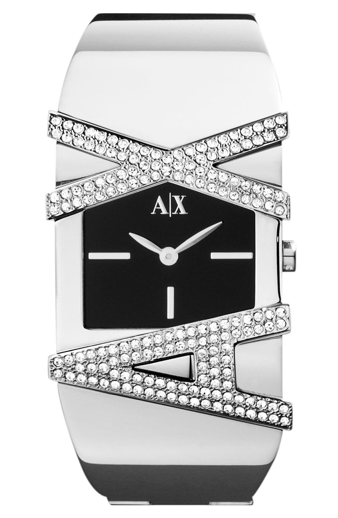 Alternate Image 1 Selected - AX Armani Exchange Bangle Watch, 35mm (Online Only)
