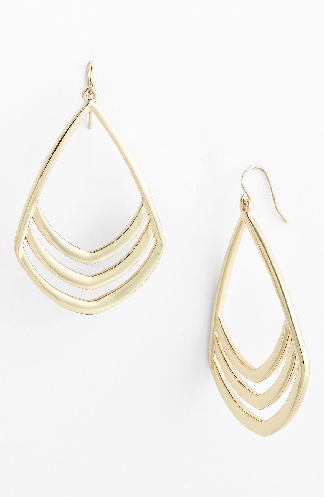 Main Image - Vince Camuto Open Teardrop Earrings