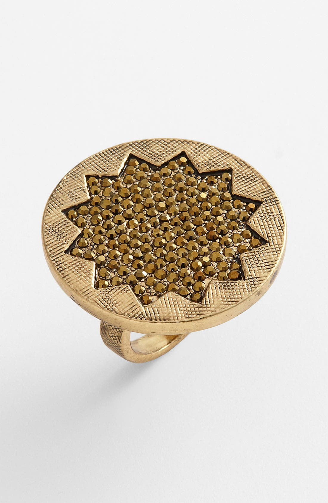 Main Image - House of Harlow 1960 Sunburst Pavé Cocktail Ring