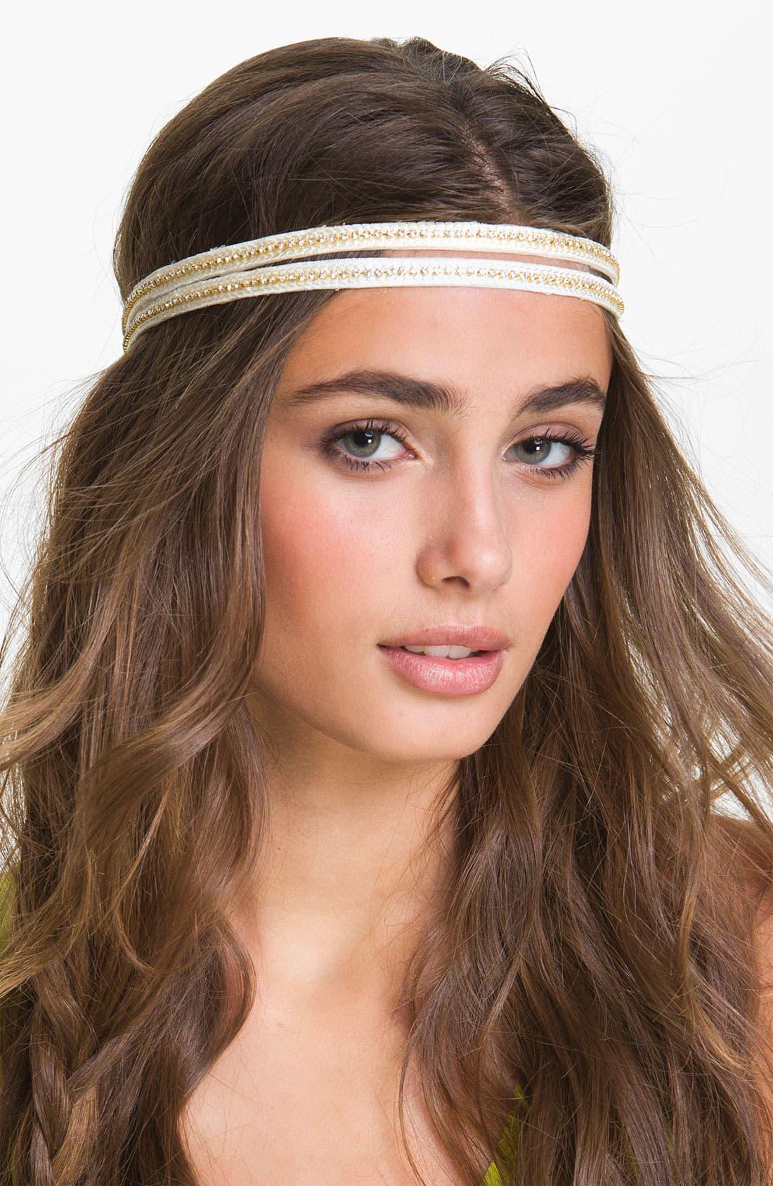Main Image - Lulu Rhinestone Headband