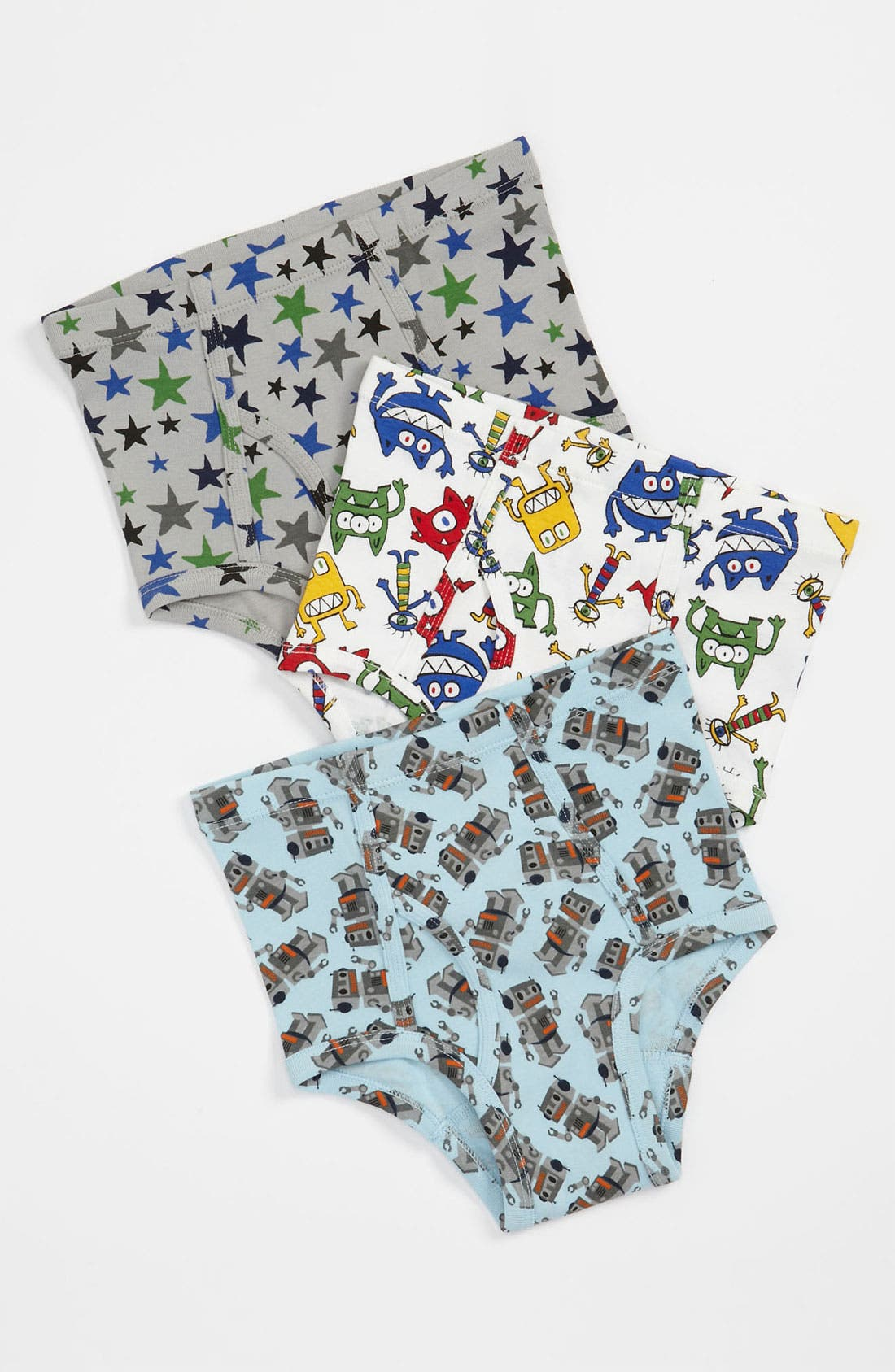 Alternate Image 1 Selected - Hanna Andersson Underwear (3-Pack) (Toddler, Little Boys & Big Boys)