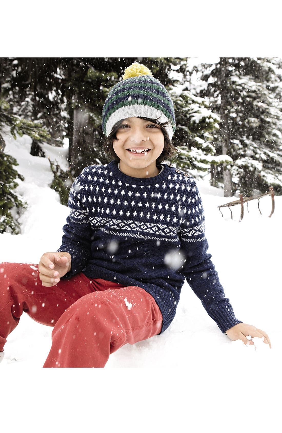 Alternate Image 2  - Mini Boden Sweater (Toddler, Little Boys & Big Boys)