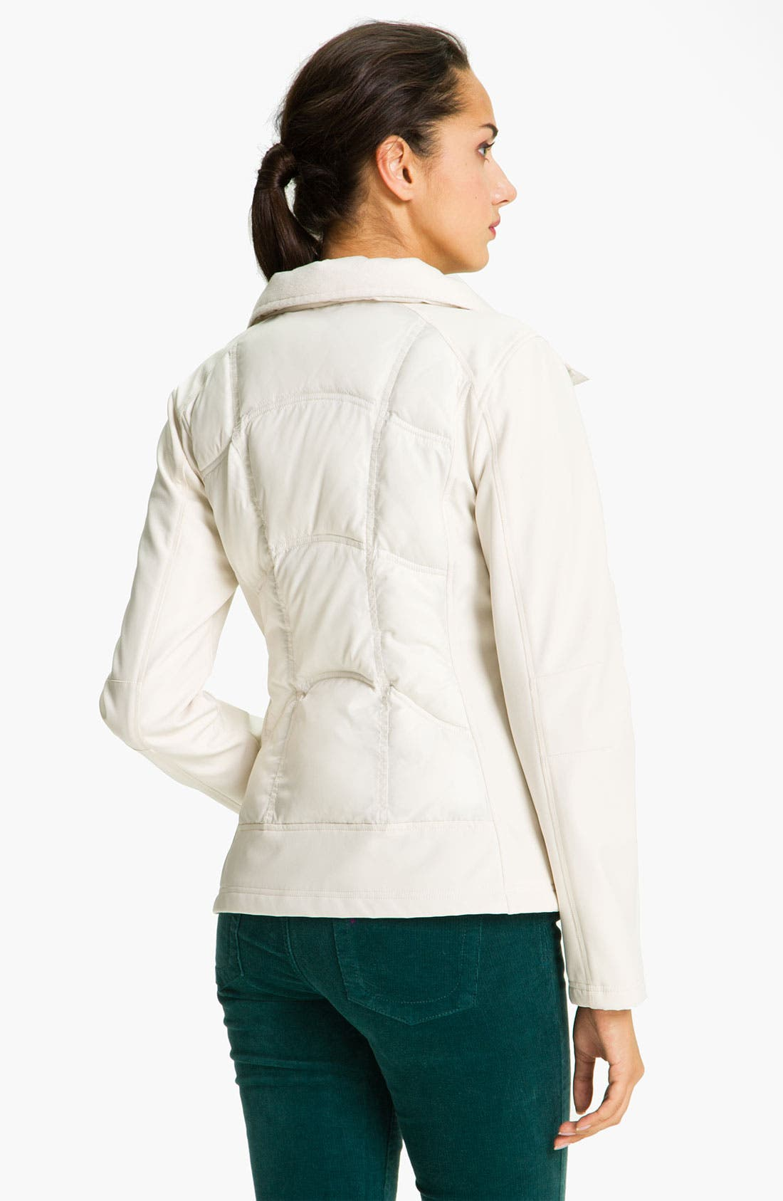 Alternate Image 2  - GUESS Wing Collar Quilted Jacket
