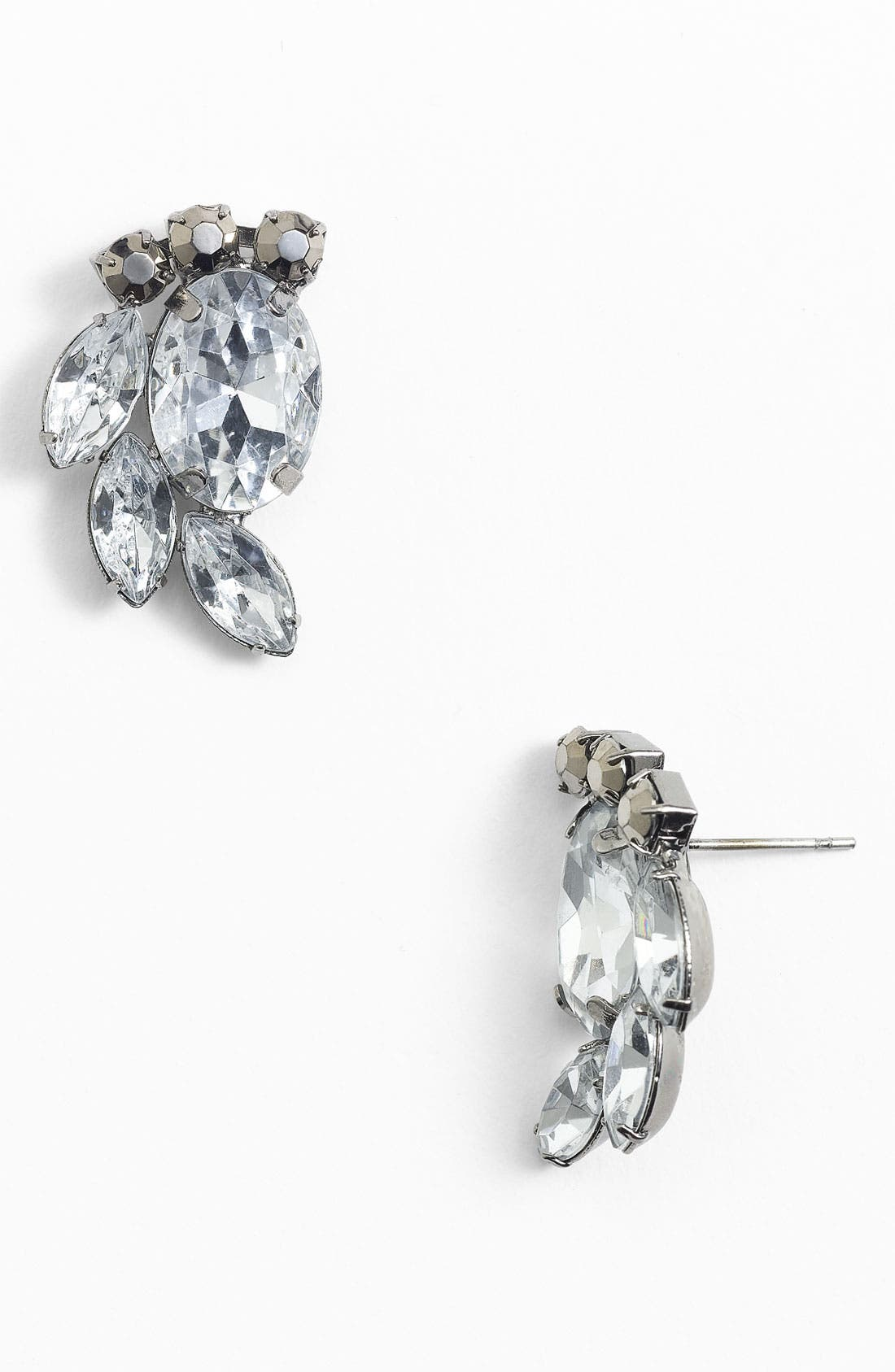 Alternate Image 1 Selected - Stephan & Co. Vintage Cluster Earrings