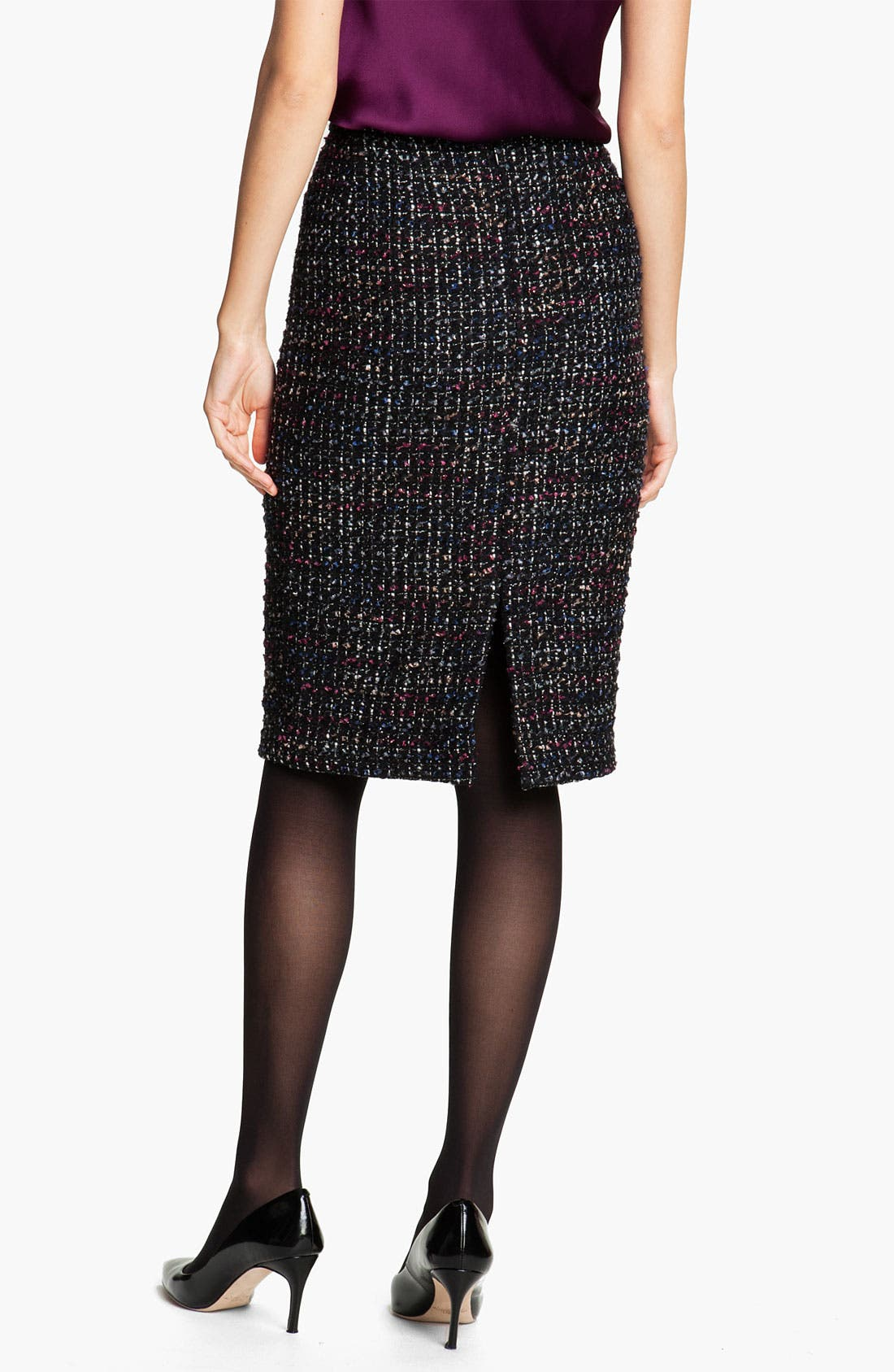 Alternate Image 2  - Lafayette 148 New York 'Cambria Tweed' Slim Skirt