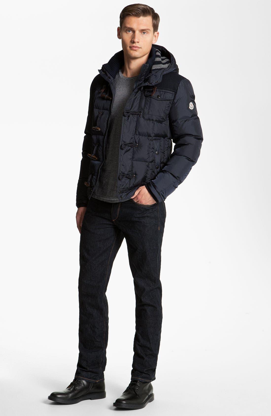 Alternate Image 4  - Moncler 'Virgile' Hooded Quilted Bomber Jacket